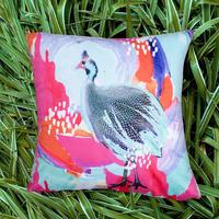 エクスプローラークッションカバー Optimistic Guinea Fowl