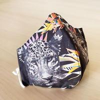 ハッピーアートマスク  Fierce Leopard(大人用L)