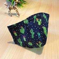 ハッピーアートマスク  Dotted Cactus  (大人用 M)