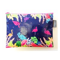 サファリポーチ Flamingo Jungle