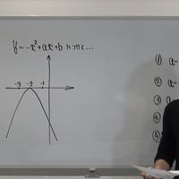 自衛官一般曹候補生数学 9・10対策(2次関数決定問題等)前編