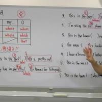 英語授業本編 第8講:関係代名詞