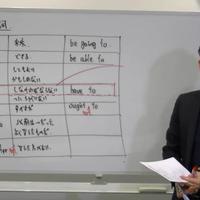 入門英語 第5講:助動詞