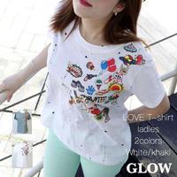 LOVE♥Tシャツ【2色】