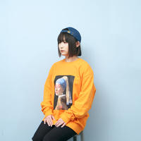 VERMEER SWETSHIRTS (ORANGE)