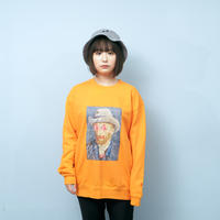GOGH SWEATSHIRTS (ORANGE)