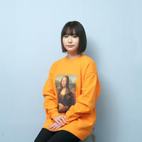 MONA LISA SWEATSHIRTS (ORANGE)