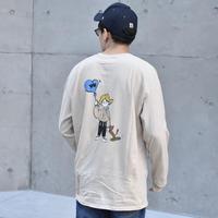balloonboy longTシャツ beige