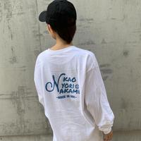 back print logoT blue