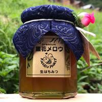 薫るはちみつ2021年産  黒花メロウ 【大】190g瓶