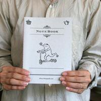 活版印刷ノート カエルコースター