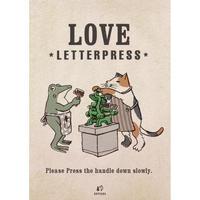 ポスター 活版印刷LOVE