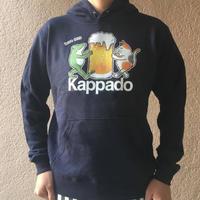 ビール大好き プルオーバーパーカー(ネイビー)【受注生産・送料無料】