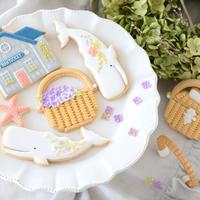 """7/16発送""""Nantucket basket"""" DIYクッキーキット&ビデオレッスン"""