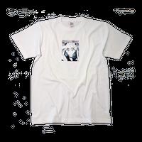 """"""" OSHIOKIYO """"  S/S  T-shirt white"""