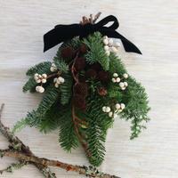 モミの木のミニクリスマス スワッグ№3