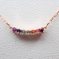 【12/23掲載】K18PGダイヤモンド0.07ct ペンダント(ネックレス)