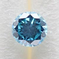 【12/15更新】ブルーダイヤモンド (トリートメント) 0.192ctルース(Treted FANCY DEEP GREEN BLUE, SI2)