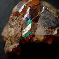 【2/25掲載】アンドラダイトガーネット(通称名 レインボーガーネット) 1.520ct原石