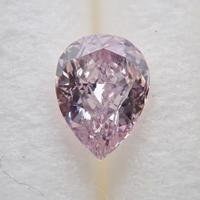 【3/4掲載】ピンクダイヤモンド 0.152ctルース(FANCY LIGHT PURPLE PINK, I1)