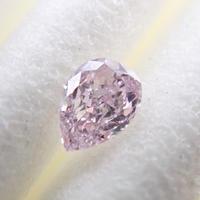 【12/15更新】ピンクダイヤモンド 0.107ctルース(FANCY LIGHT PURPLISH PINK, SI2)