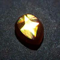 【5/22掲載】アンドラダイトガーネット(通称名 レインボーガーネット) 0.910ct原石