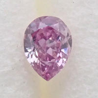【9/30掲載】パープルダイヤモンド 0.032ctルース(FANCY INTENSE PINK PURPLE, SI2)