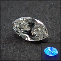 【8/30掲載】ダイヤモンド 0.148ctルース(J, SI2,STRONG BLUE)