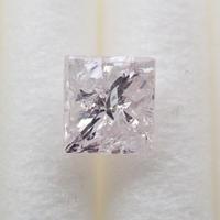 【4/15掲載】ピンクダイヤモンド 0.295ctルース(FAINT PINK, I2,プリンセスカット)