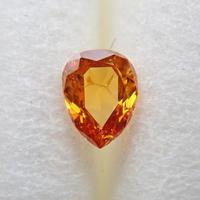 【11/25掲載】オレンジダイヤモンド 0.088ctルース(FANCY DEEP YELLOW ORANGE, I1)