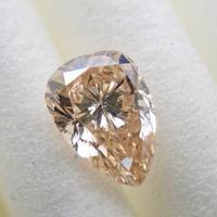 【11/25更新】イエローダイヤモンド 0.372ctルース(LIGHT BROWNISH ORANGE YELLOW, VS1)