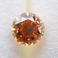 【12/27更新】イエローダイヤモンド 0.228ctルース(FANCY DEEP ORANGE YELLOW, VS2)