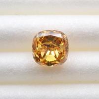 【2/24掲載】イエローダイヤモンド 0.430ctルース(FANCY DEEP BROWNISH YELLOW, I1)
