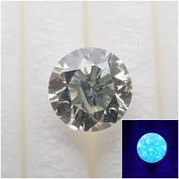 【4/1掲載】グリーンイエローダイヤモンド 0.502ctルース(VERY LIGHT GREEN YELLOW, I1)