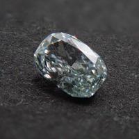【8/15更新】グリーンダイヤモンド 0.075ctルース(FANCY LIGHT BLUE GREEN, VS1)