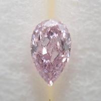 【3/2更新】ピンクダイヤモンド 0.052ctルース(FANCY LIGHT PURPLISH PINK, SI2)