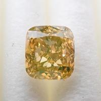 【1/22掲載】イエローダイヤモンド 0.465ctルース(FANCY DEEP BROWNISH YELLOW, VS2)