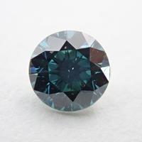 【11/25更新】ブルーダイヤモンド (トリートメント) 0.305ctルース(Treted FANCY DEEP GREEN BLUE, SI2)
