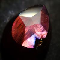 【2/13掲載】アンドラダイトガーネット(通称名 レインボーガーネット) 1.243ct原石