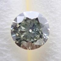 【3/4掲載】グリーンイエローダイヤモンド 0.195ctルース(LIGHT GRAYISH GREEN YELLOW, SI1)