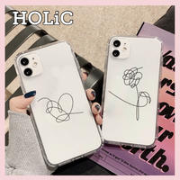 【No.352】韓国デザイン イラスト iPhoneケース  2種類