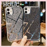 【No.115】 ラメ柄  iPhoneケース 4種類