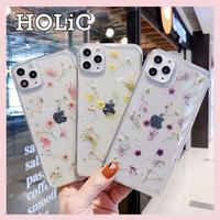【No.151】 クリアケース 花柄 シンプル iPhoneケース 4種類