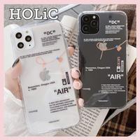 【No.146】  クリアケース パロディ iPhoneケース 2種類