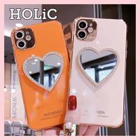 【No.245】ハートミラー  iPhoneケース 5種類
