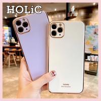 【No.170】シンプル メッキ iPhoneケース 6種類