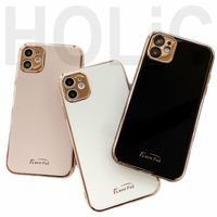 【No.168】シンプル メッキ iPhoneケース 5種類