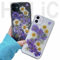 【No.153】 クリアケース 花柄 iPhoneケース 2種類