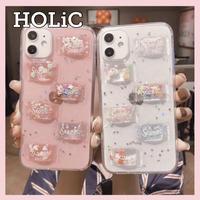 【No.33】クリアケース ぷっくり キャンディ iPhoneケース 2種類