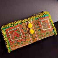 世界に1つ Banjara ポーチ《ep3a》刺繍&ビーズ